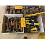 Lot of (2) Boxes of Hammers and Chisels