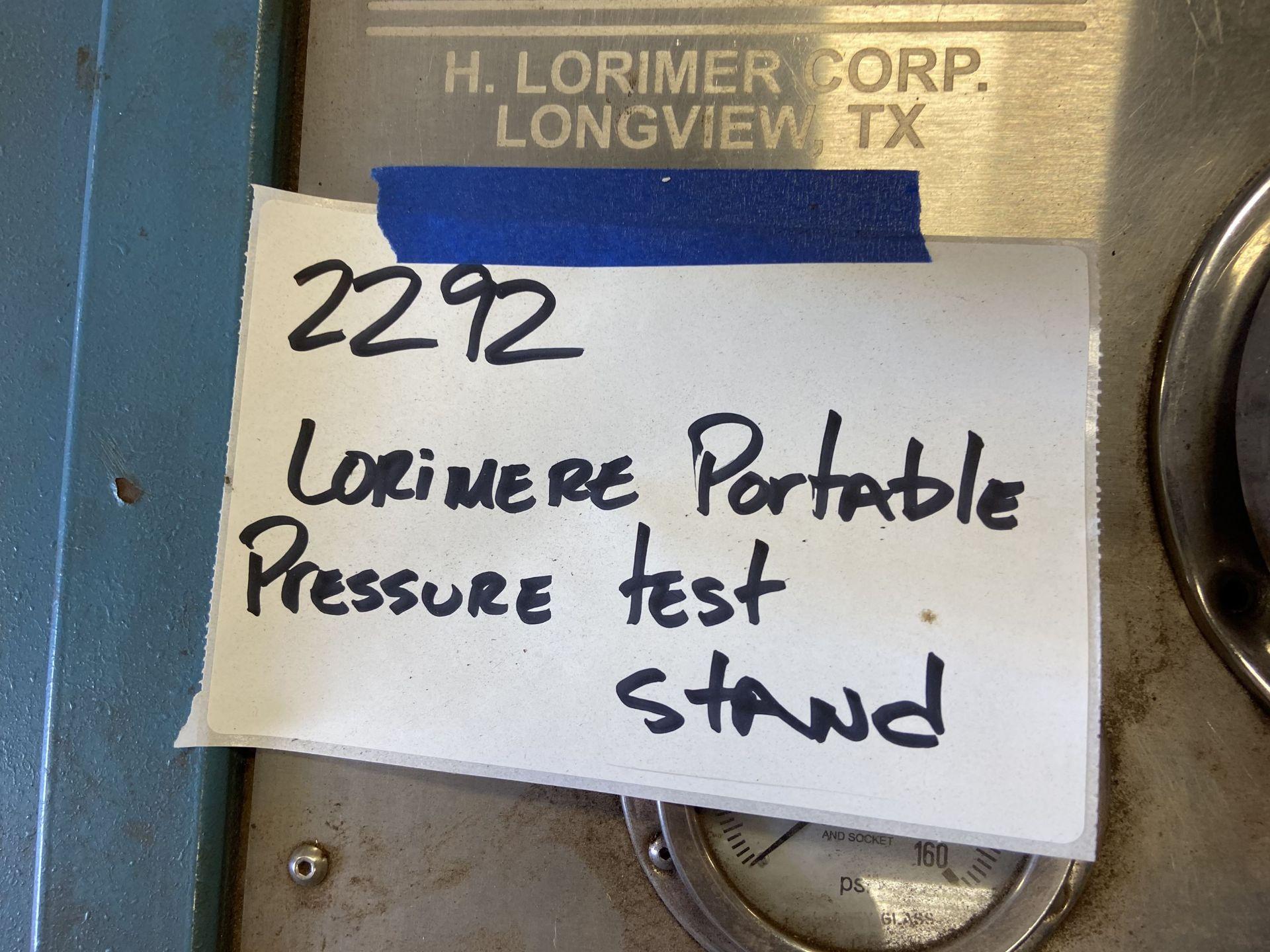 Lorimer Pump Stand - Image 2 of 2