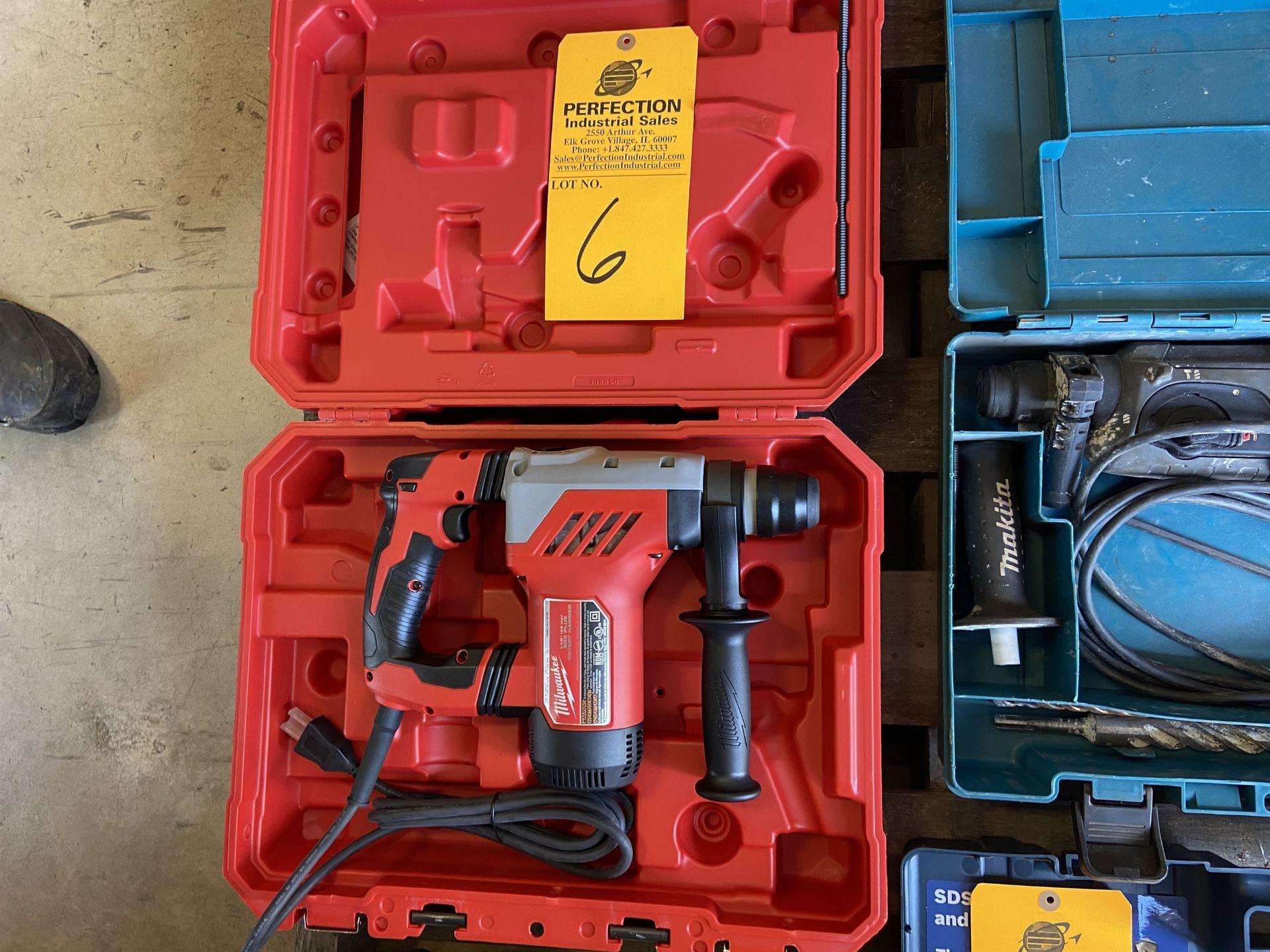 """Milwaukee 1 1/8"""" Rotary Hammer Drill"""