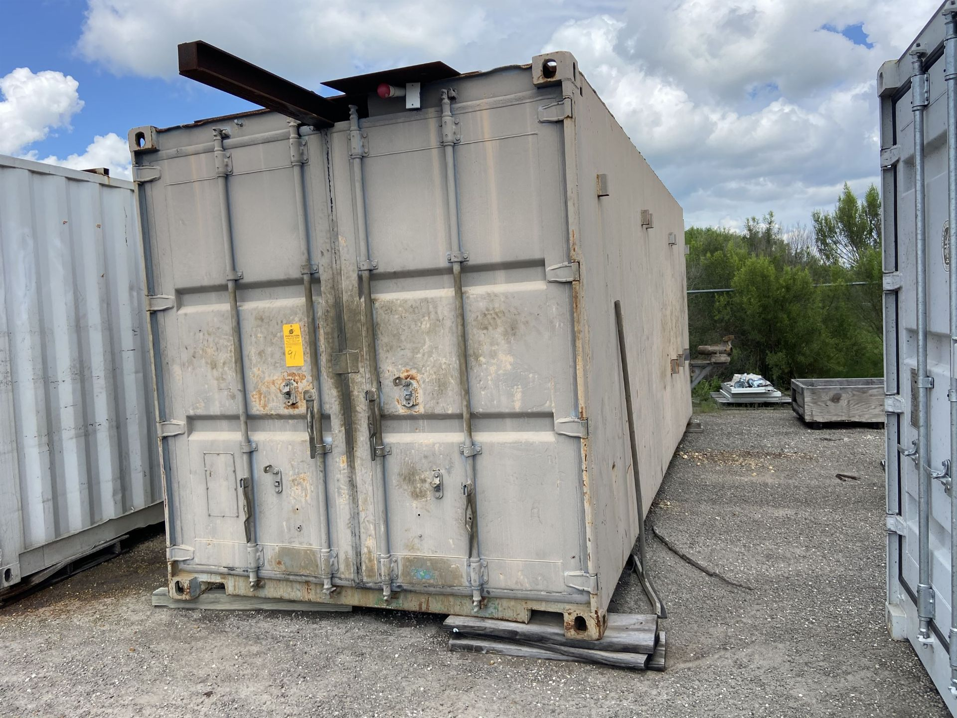 20' Container Test /Assy Station with 1/2 Ton crane and Hoist