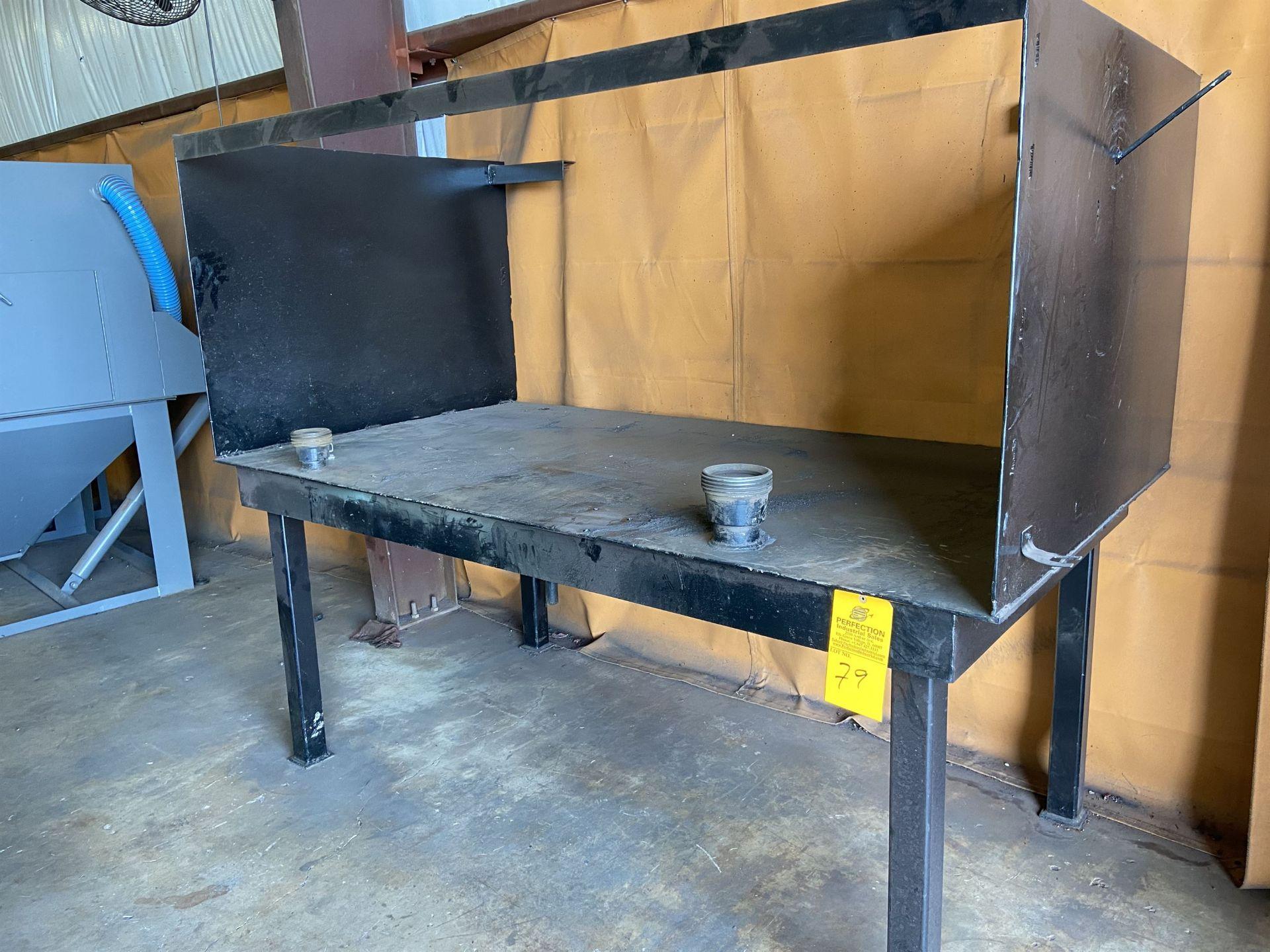 "48"" x 88"" welding Table"
