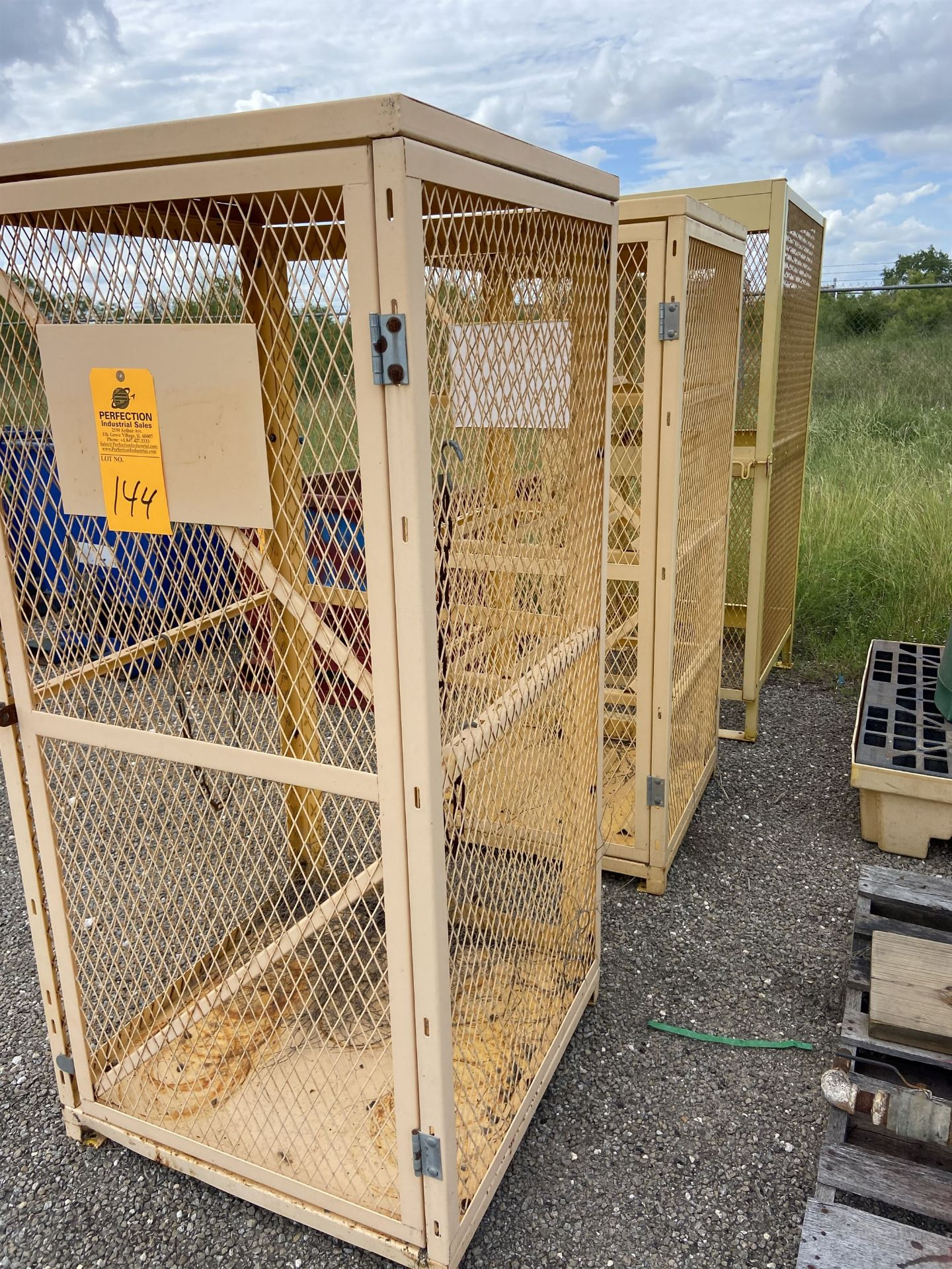 lot of (3) Cage Racks - Image 2 of 2