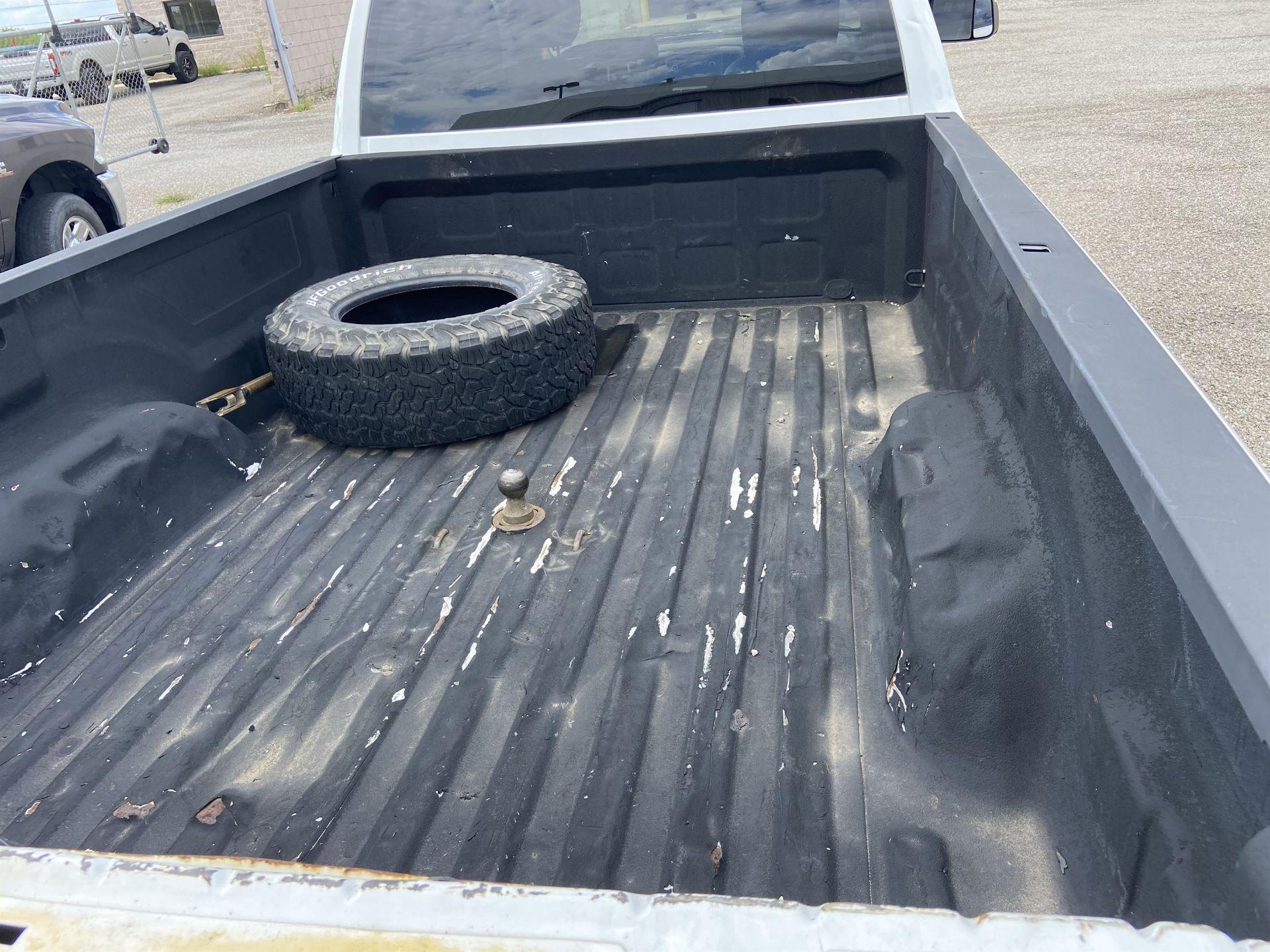 2011 Dodge Ram 2500 HD Crew Cab Long Bed, 212k Miles, Vinyl, 4x4, Gas, VIN # 3D7TT2CT9BG626009 - Image 14 of 16