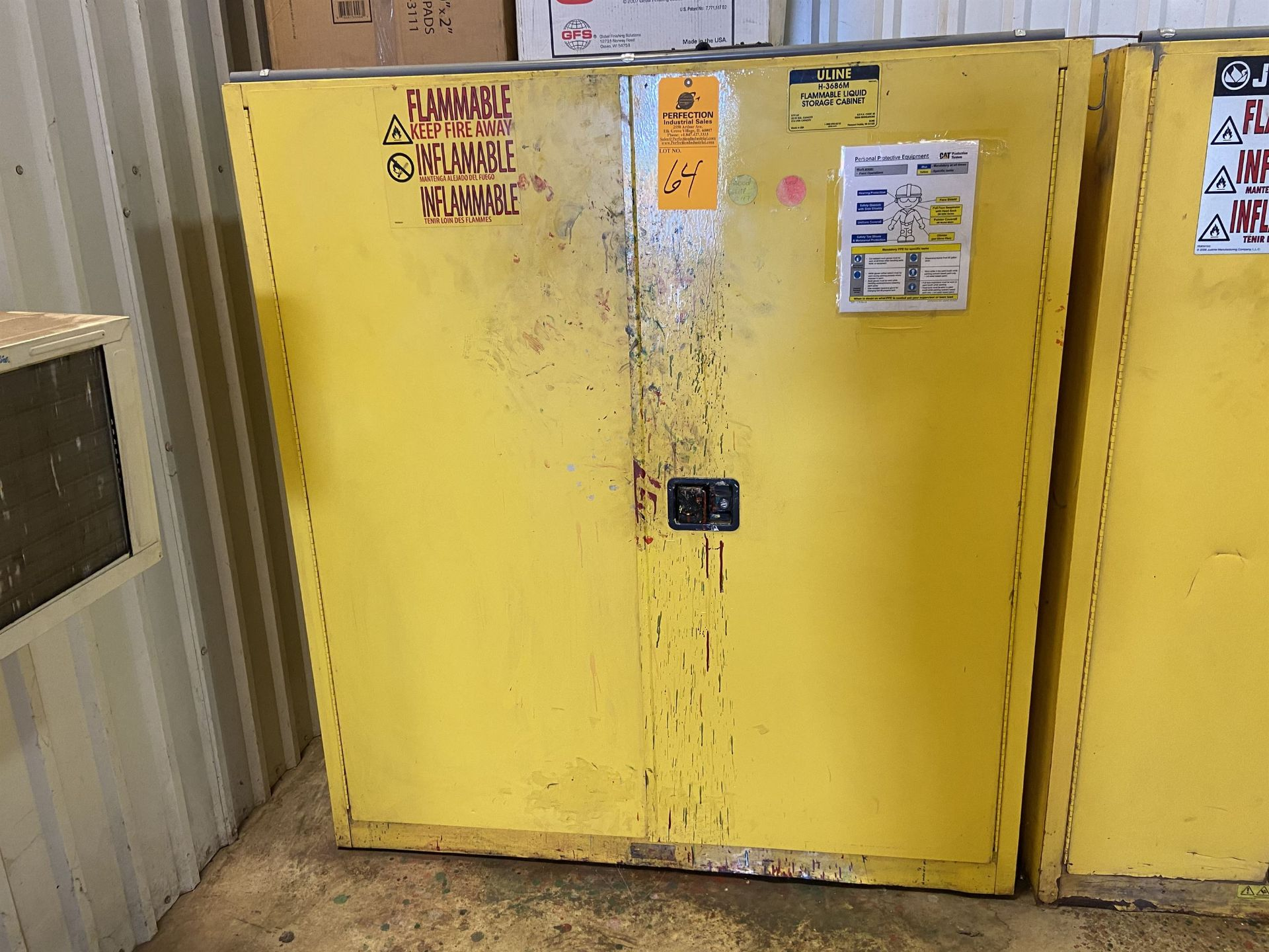 Uline 110 Gal Fire Cabinet