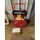 Banding Cart with vinyl Banding