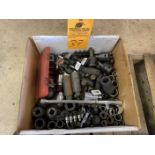 lot of (1) Box of 1/2 and 3/4 Sockets