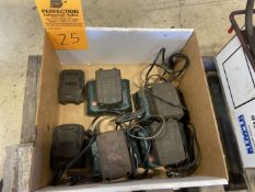 Lot of Spare Chargers