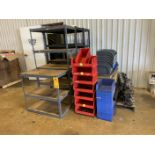 Lot of Shelving and Totes