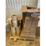 Lot of Boxes and Packing Supplies