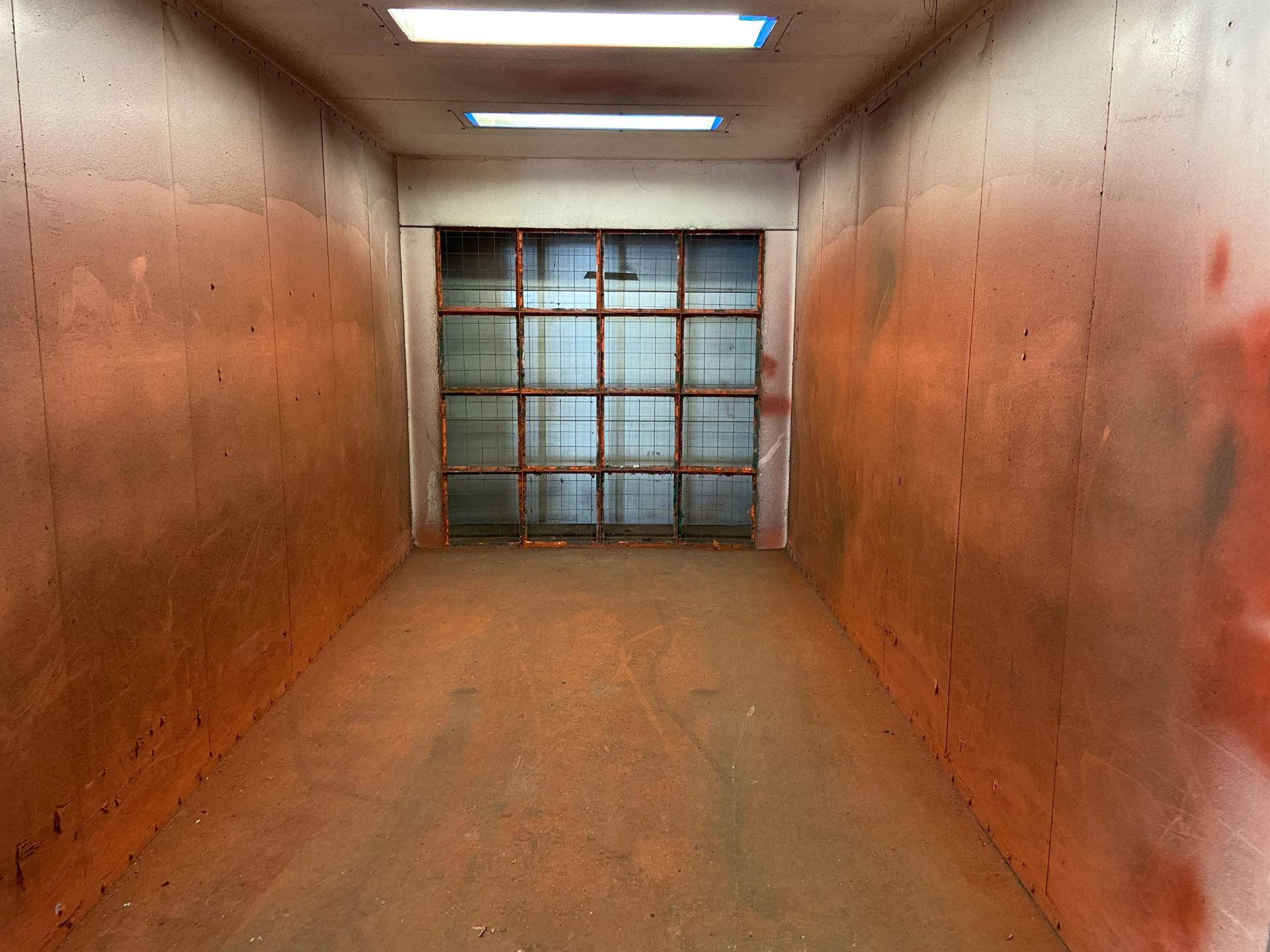 """Colmet 96"""" x 170"""" x 90"""" High Free Standing Paint Booth with Exhaust - Image 2 of 4"""