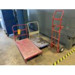 Lot of Shop Carts and Dollie