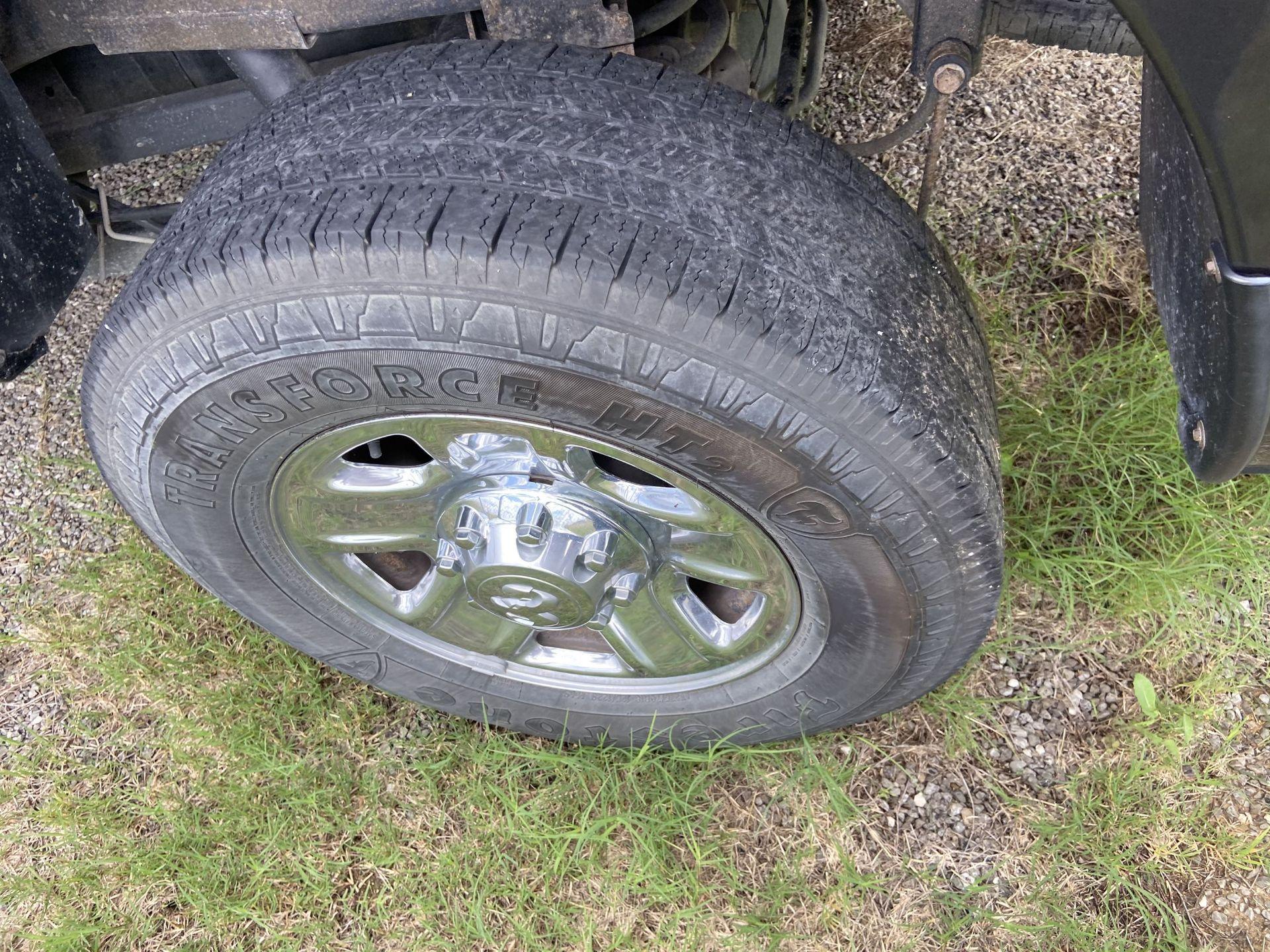 2013 Dodge Ram 2500 HD Crew Cab Long Bed, 251K Miles, Cloth, 4X4, Diesel, VIN # 3C6UR5HL1EG135730 - Image 6 of 17