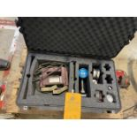 Lot of Mag Particle set consisting of a Cordless UV Light, 10 Lb Block, UT Meter, Step Block and a
