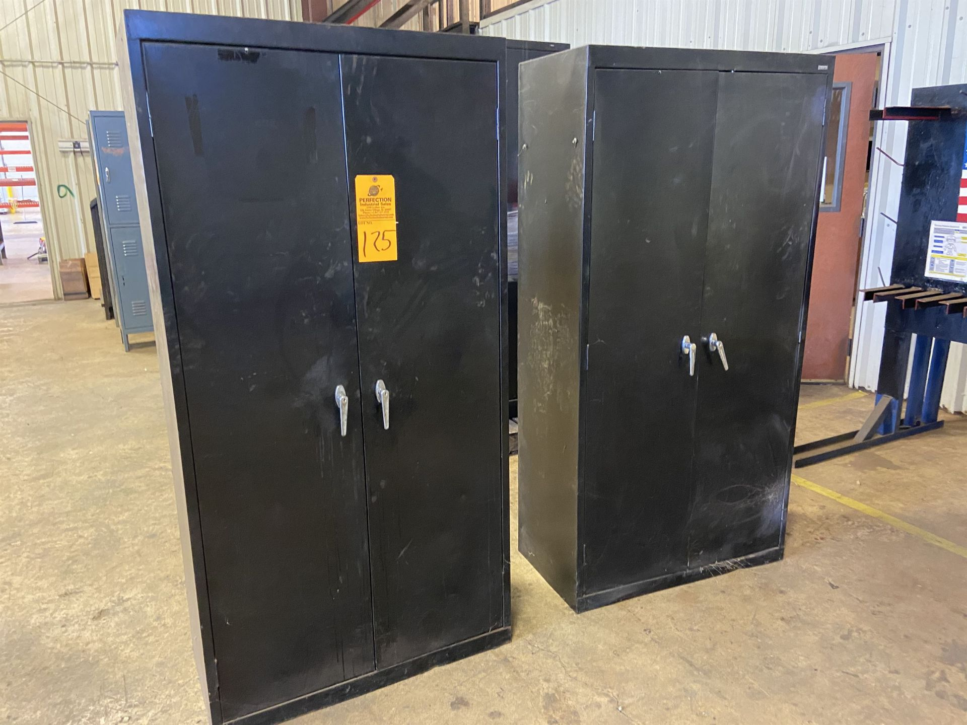 Lot of (2) Shop Cabinets