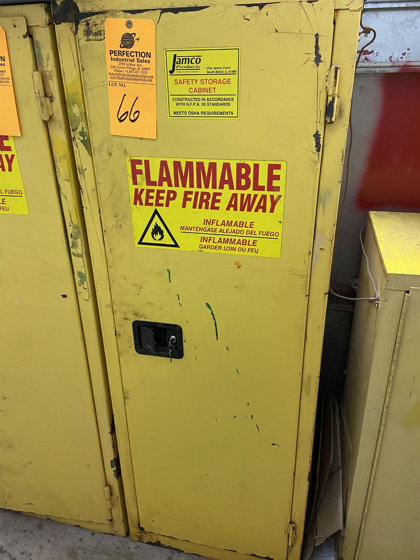 Jamco 24 gal Fire Cabinet