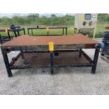 """48"""" x 96"""" Metal welding bench"""