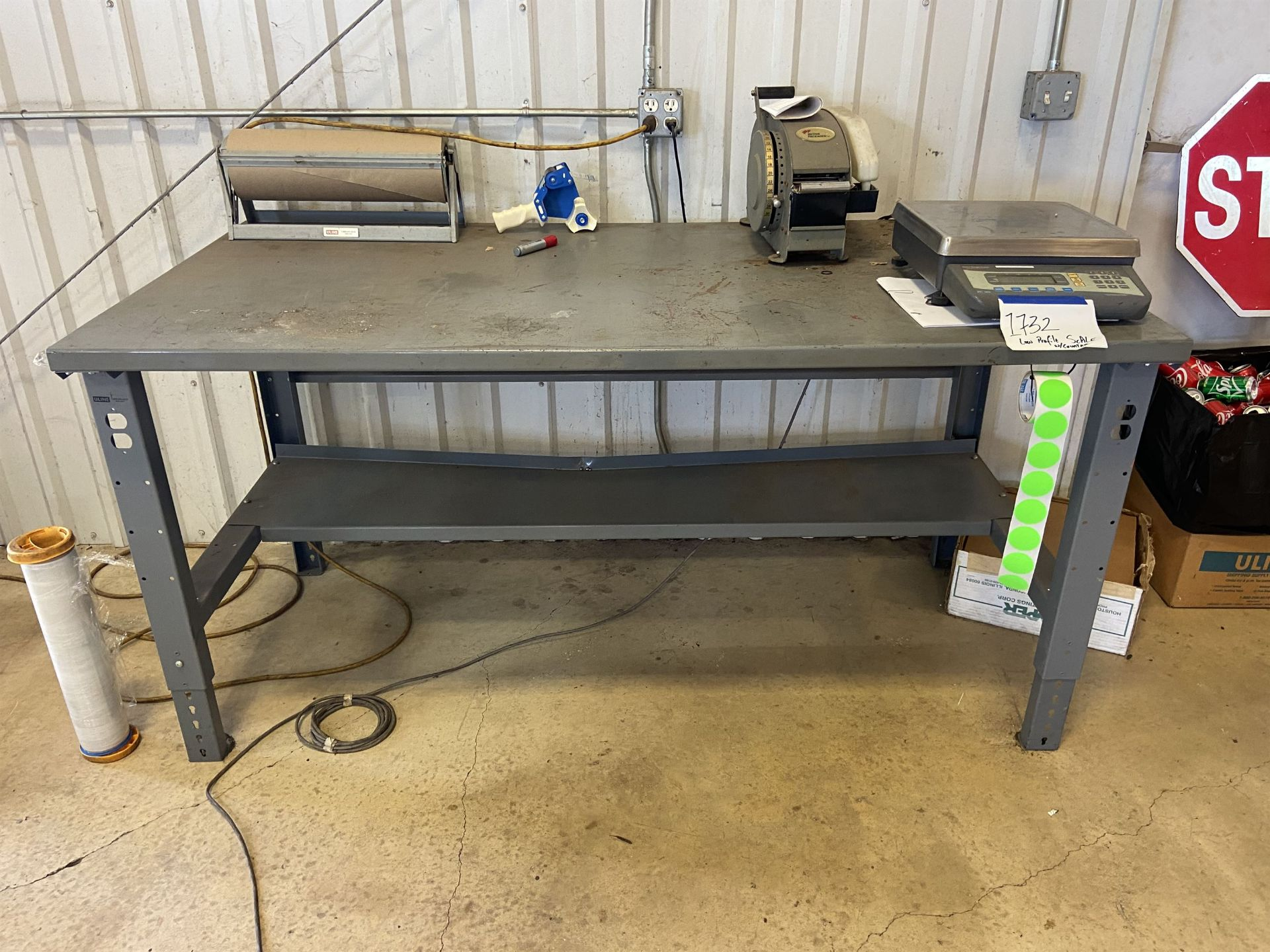 4x4 Scale with Bench Reader and Shipping Area - Image 5 of 5