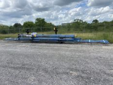 "Gorbel Crane System, Approx 18' x 400"" x 17' High with (1) 1000 lb Bridge"
