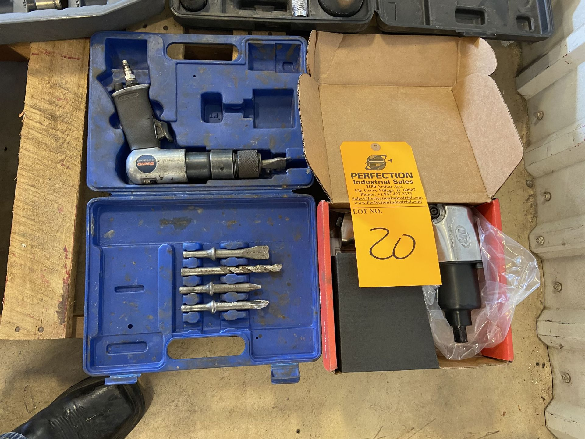 lot of Air Impact and Air Chisel
