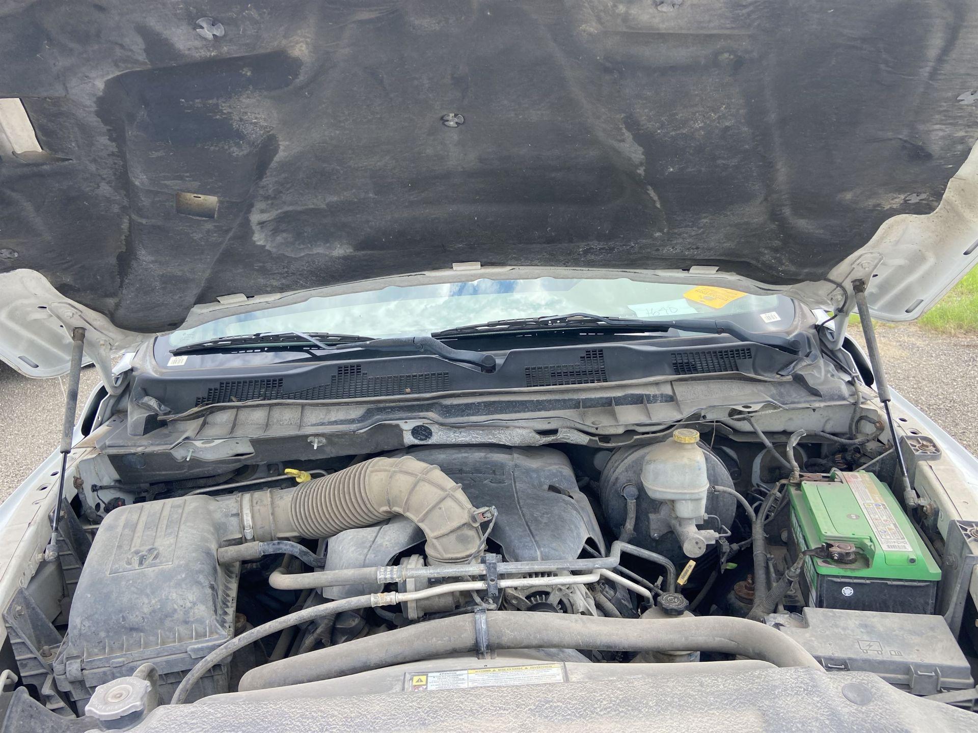 2011 Dodge Ram 2500 HD Crew Cab Long Bed, 212k Miles, Vinyl, 4x4, Gas, VIN # 3D7TT2CT9BG626009 - Image 16 of 16