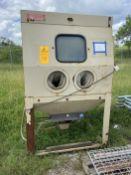 MBA Model N2004836 Blast Cabinet s/n 57771011