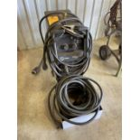 Millermatic 252 Welder s/n MB51056ON on Cart with Extension Cords