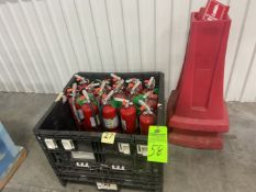 Lot of Fire Extguishers