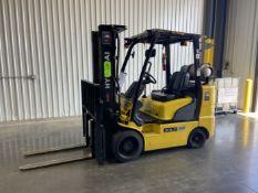 "HYUNDAI 30LC-7A 5,560 Lb LP Forklift, s/n HHKHHC09EC0000148, w/ 185"" 3-Stage Mast, 42"" Forks, ("