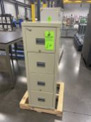 4 Drawer Patriot Fire Filing Cabinet