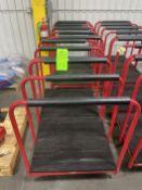 Lot of (2) Uline Body Carts