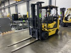 "HYUNDAI 30LC-7A 5,459 Lb LP Forklift, s/n HHKHHC09PD0000172, w/ Accu-Tilt 185"" 3 Stage Mast, 60"""