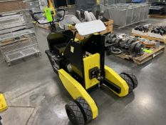 CART CADDY HD Electric Tugger, s/n 314491, w/ Pintle Hitch, Built-On Charger