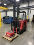 """2018 RAYMOND 425-C50TT 5,000 lb Electric Stand Up Forklift, s/n 425-18-57548, w/ 36V Charger, 251"""""""