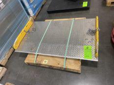 "60"" Aluminum Dock Plate"