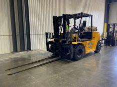 "HYUNDAI 70L-7A 15,425 Lb LP Forklift, s/n HHKHFZ21TL0000248, w/ Side Shifter, 107"" Lift, 8'"