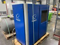 2016 QUINCY QGD-25-445787 25 hp Rotary Screw Air Compressor, s/n BU1007160103