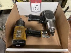 """Lot Comprising (1) Ingersoll Rand (1) Atlas Copco 1/2"""" Drive Air Impact Wrench"""