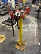 Ridgid 50-810 Pipe Vise on Pedestal