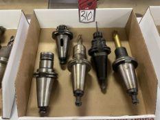 Lot of (5) Cat 50 Tool Holders