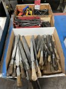 Lot of Assorted Files and Hex Head Wrenches