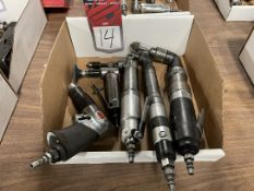 Lot of (5) Assorted Air Tools