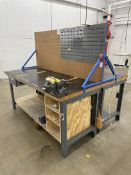 Dual Sided Work Station w/ Bench Vise