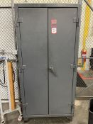 """STRONGHOLD Shop Cabinet, 3'W x 6'H x 24""""D"""