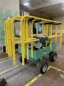GARLOCK Cart w/ Safety Rails