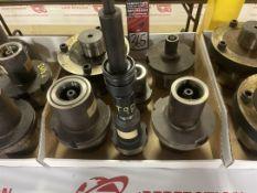 Lot of (4) HSK160 (2) HSK80 Tool Holders