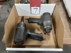 """Lot Comprising (2) Ingersoll Rand 1/2"""" Drive Air Impact Wrench"""