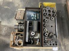 Weldon 200 End Mill Sharpening Fixture w/ Norton Trueing Device