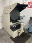 SCHERR TUMICO 22-5600 Optical Comparator, s/n T075202, w/ Quadra-Chek 300 Digital Read Out