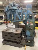 """FOOT-BURT/Hammond Cleveland Drill Press, s/n 2096-49, 95-760 RPM, 30"""" x 42.5"""" x 20"""" Table, (Asset #"""