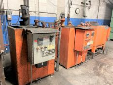 CAN-ENG Quench Line, s/n 100212, w/ 1218-A Toolmaster Furnace and 200 Gallon Quench Tank